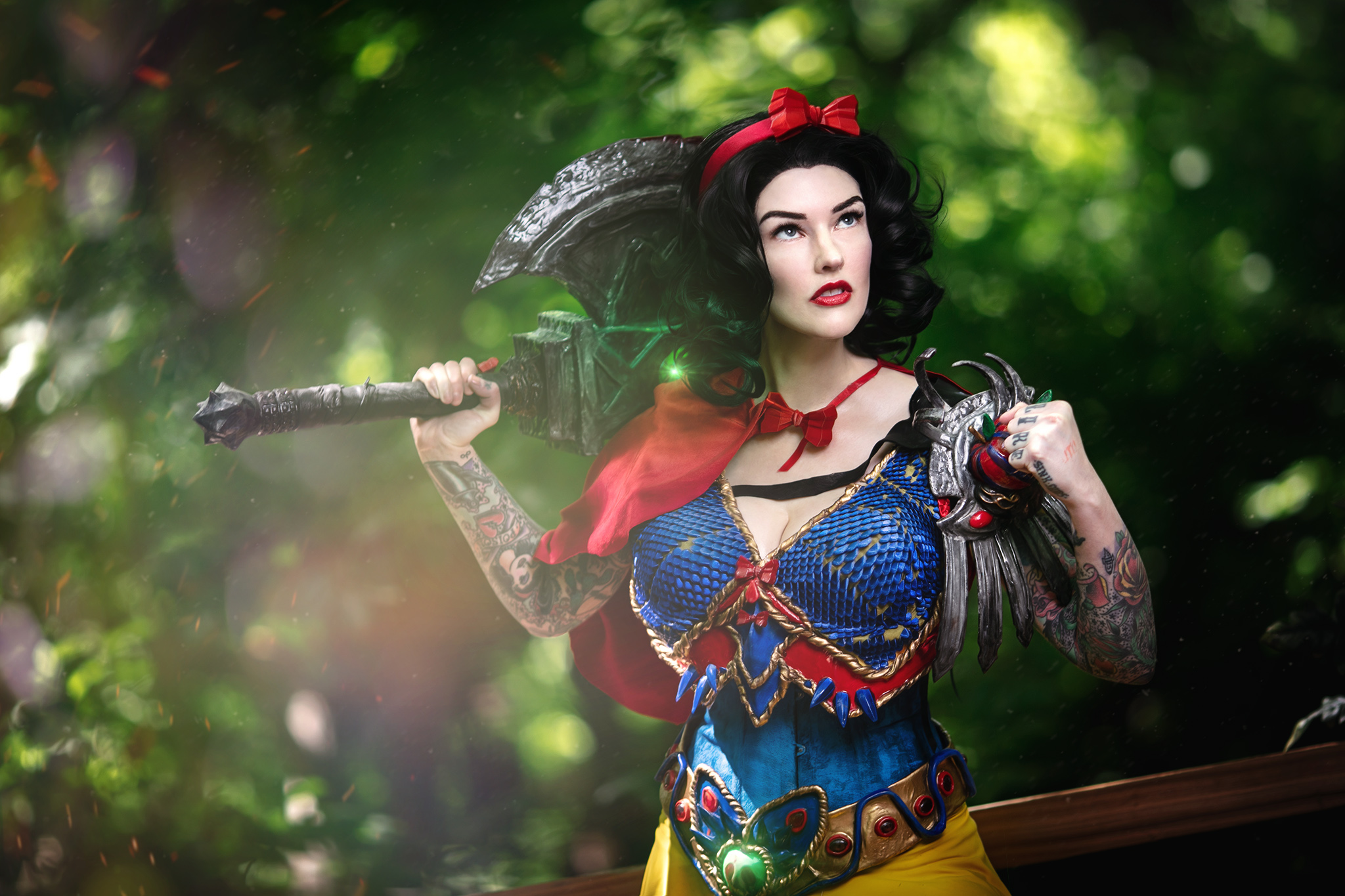 Kick ass Snow White Cosplay #AmieDD