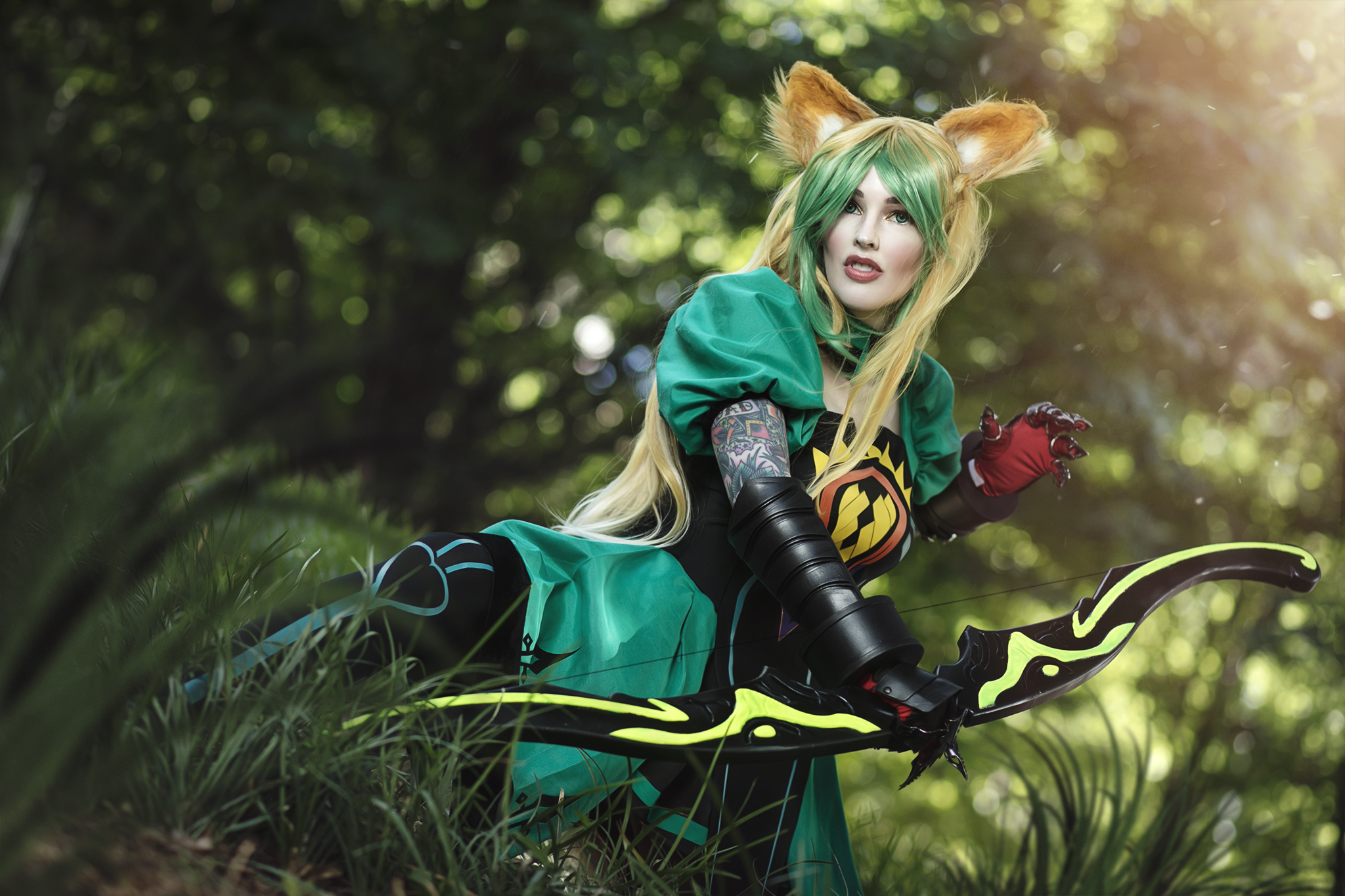 Amazing hand made Fate Atalanta by AmieDD