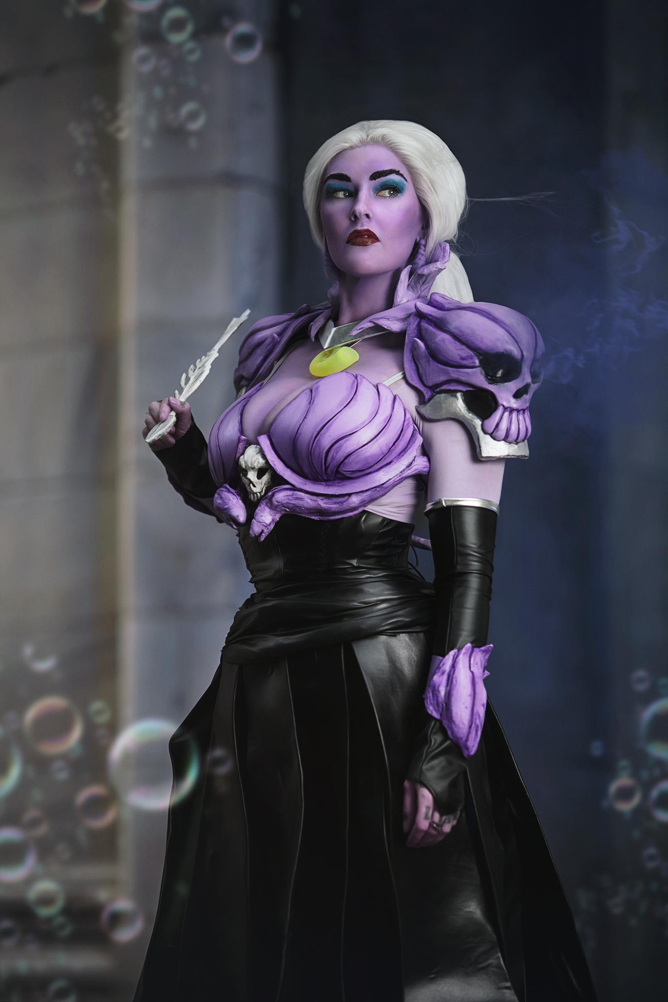 Ursula Cosplay Dragon Con 3D Print AmieDD