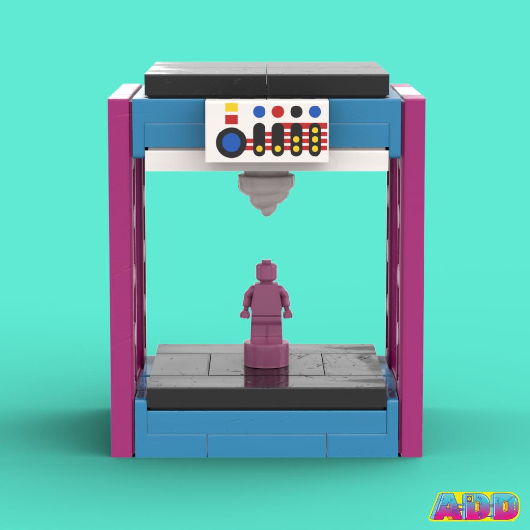 LEGO 3D Printer by AmieDD