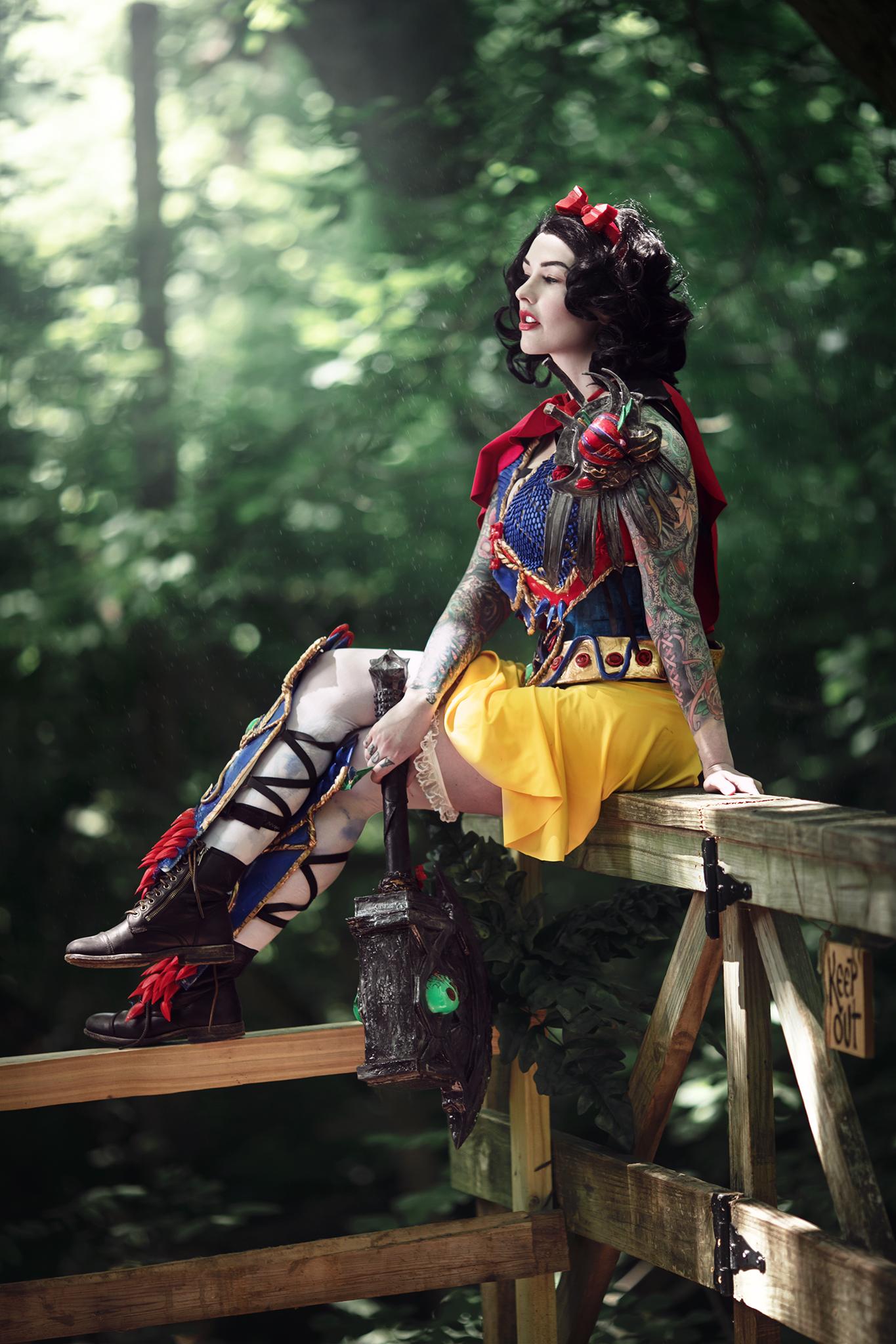 SoSayWeAll Cosplay Photography AmieDD Snow White