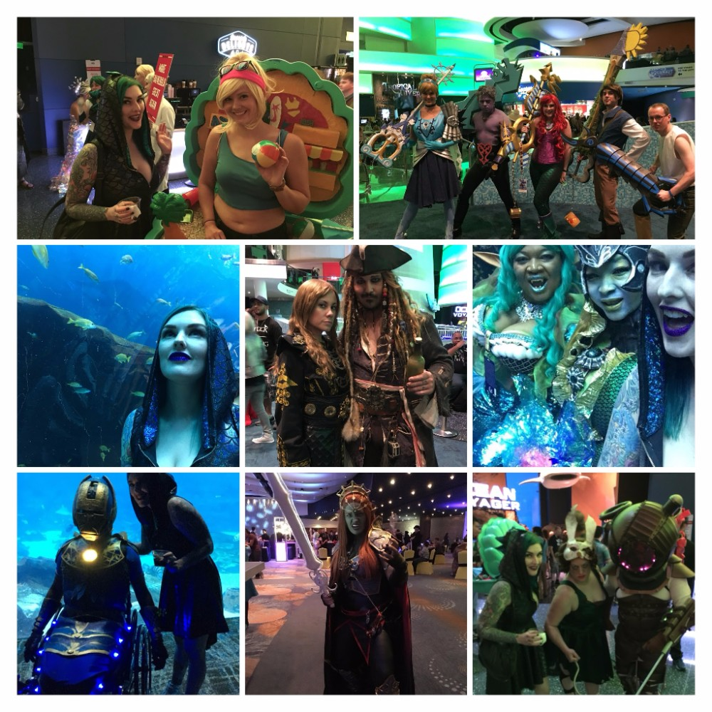Georgia Aquarium Dragon Con 2017 AmieDD