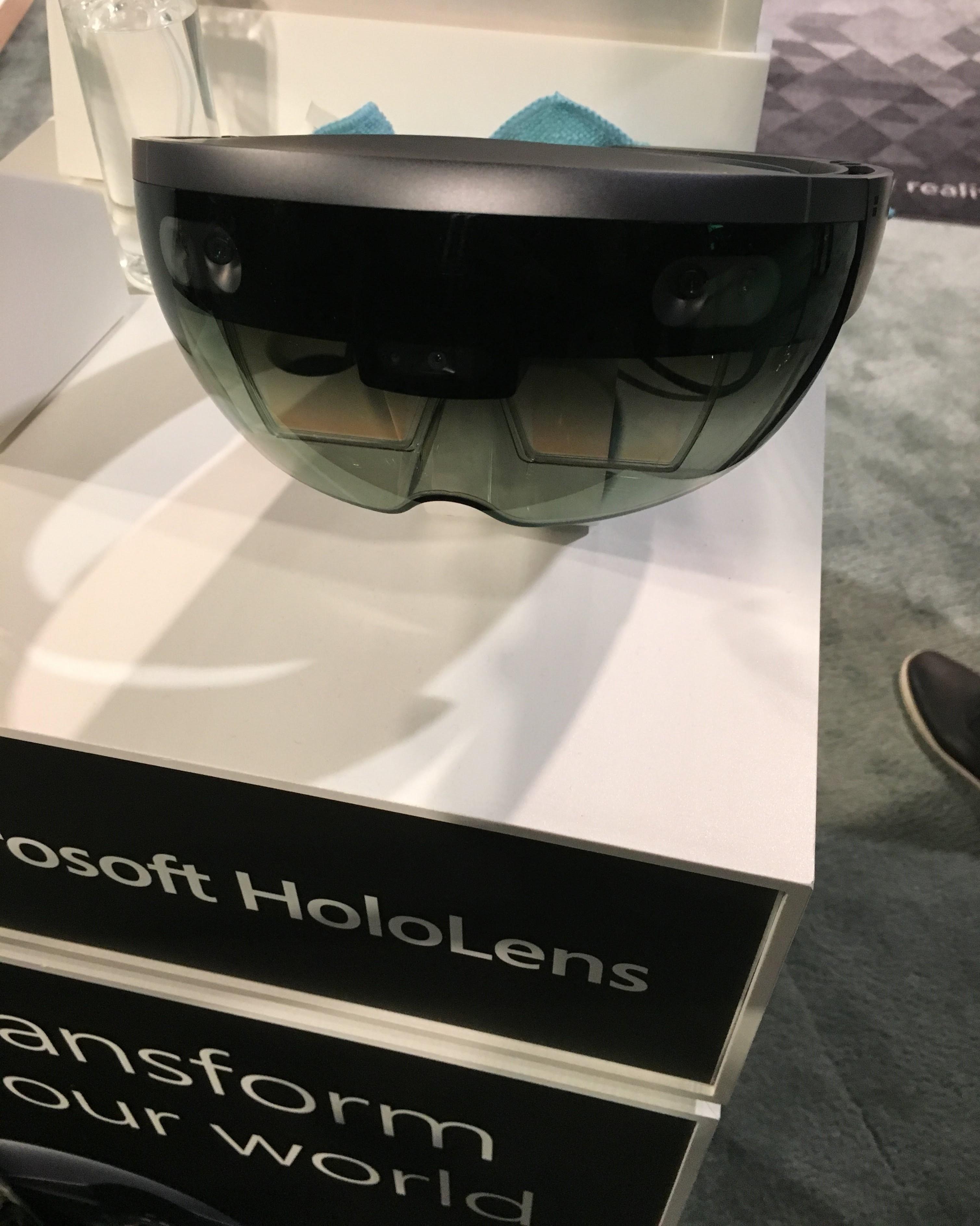 HoloLens at Microsoft Build 2018