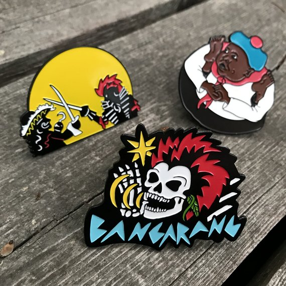 Hook Rufio Thudbutt pin sets from AmieDD and PinStash