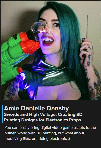 Amie Dansby SuperCon Hackaday 2018