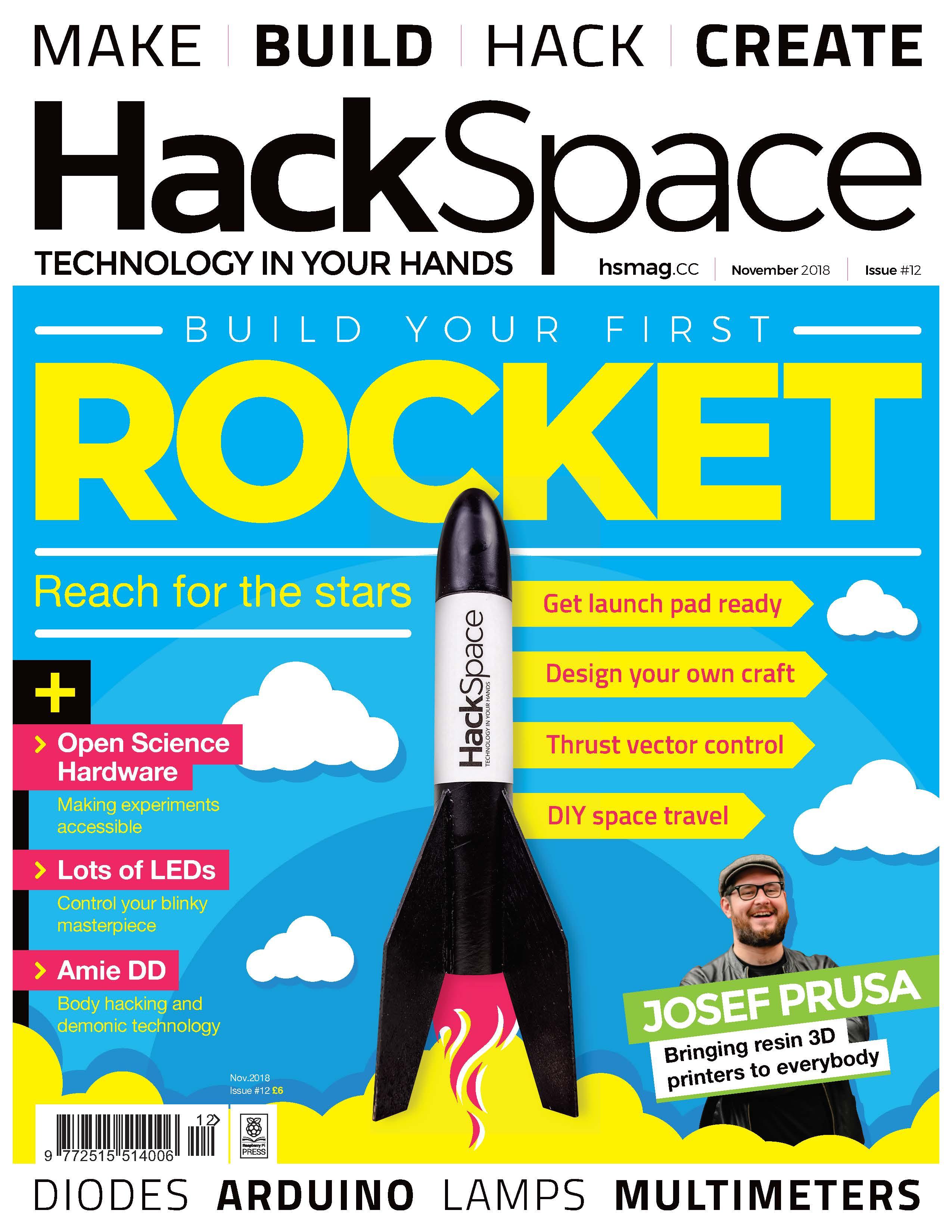 AmieDD HackSpace Issue 12