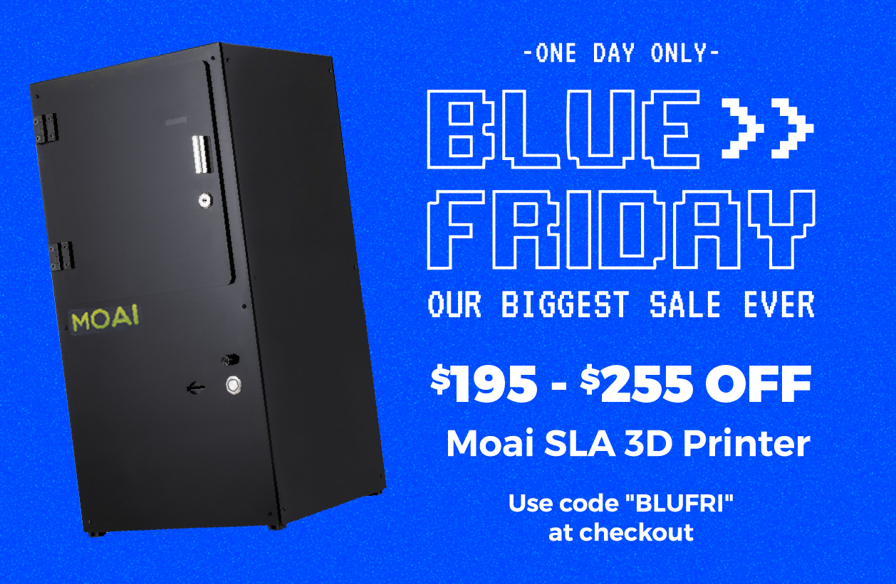 Matterhackers Blue Friday 3D Printing Sale