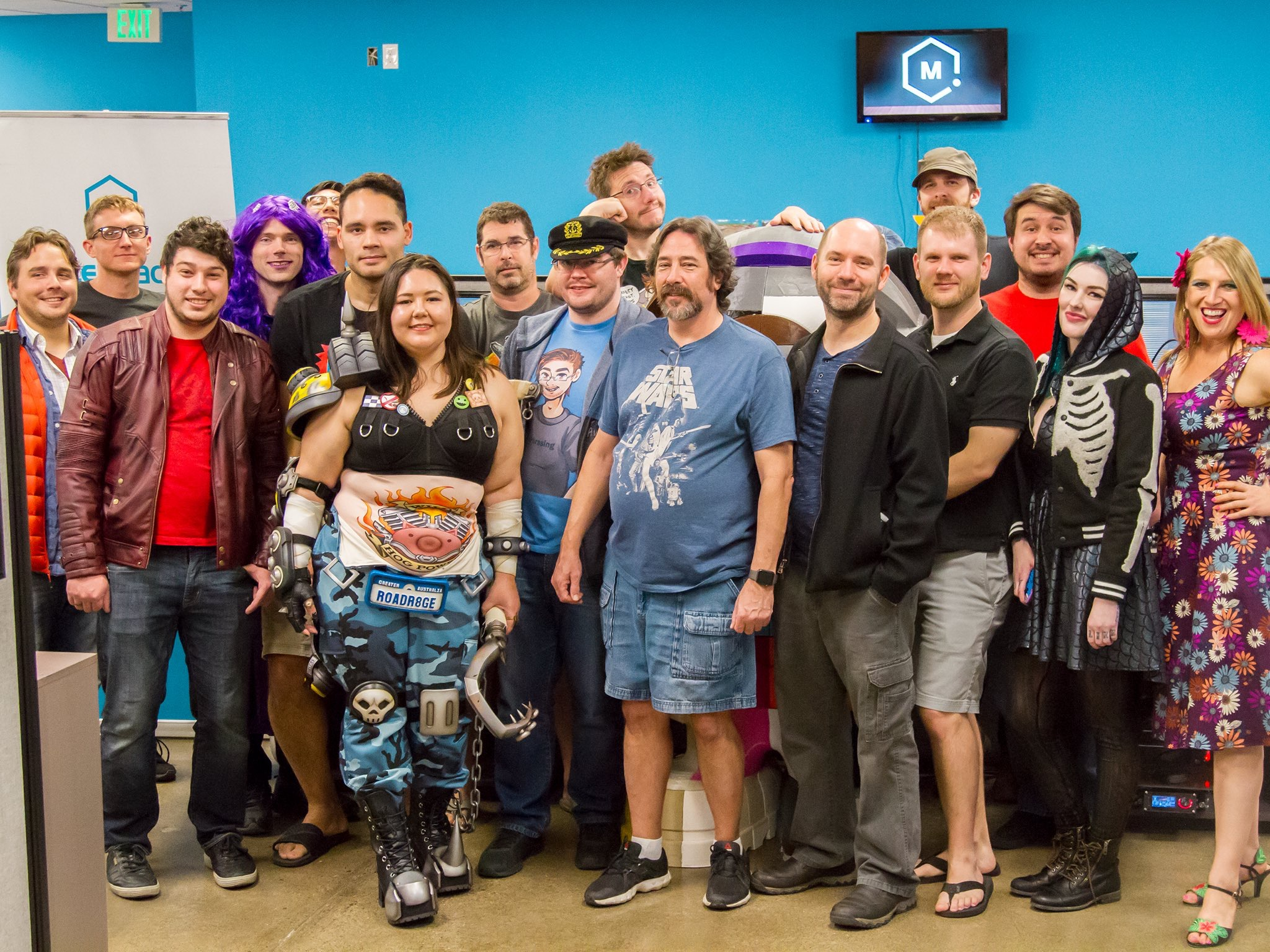 Meetup November Matterhackers - AmieDD