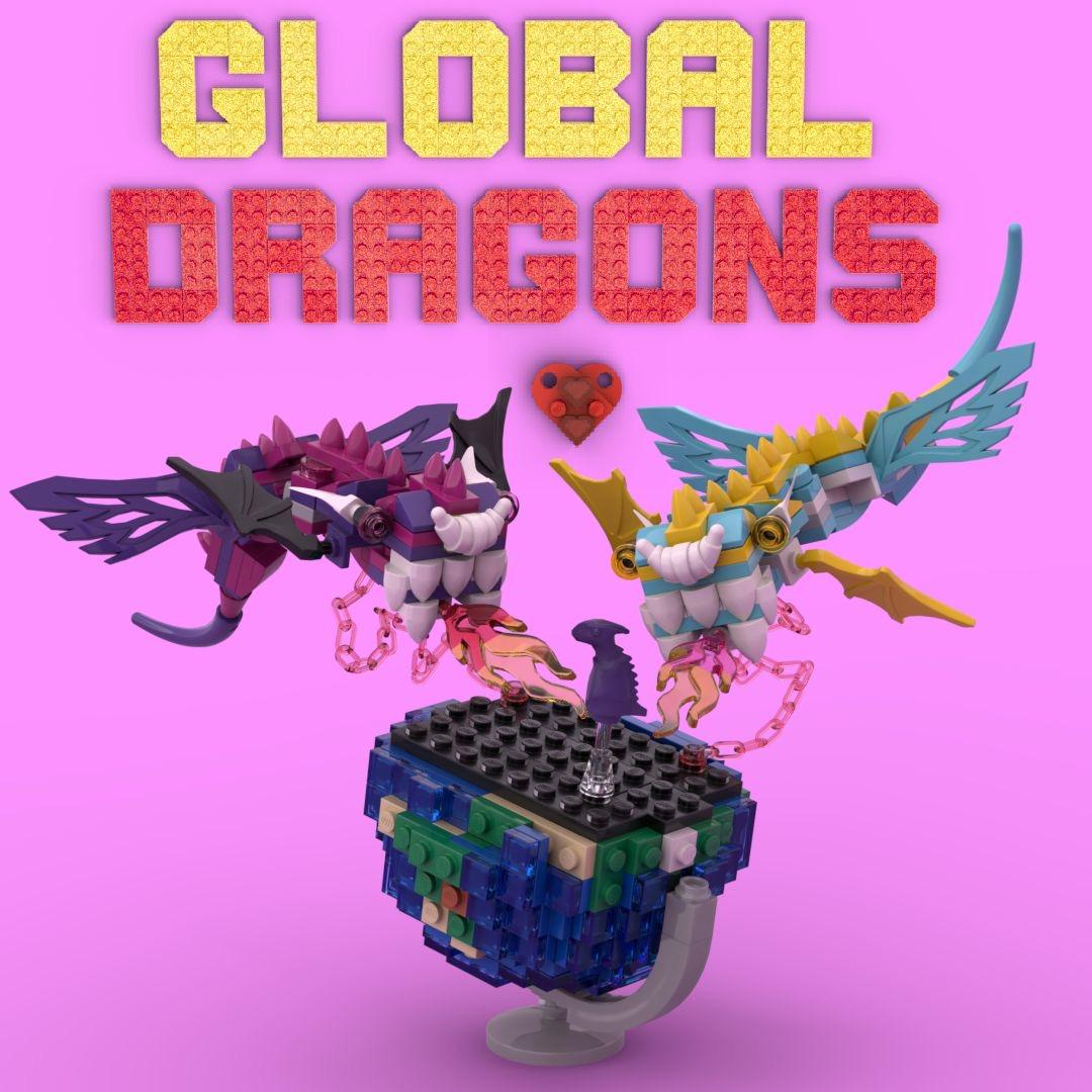 LEGO Masters Cut in Half Dragons