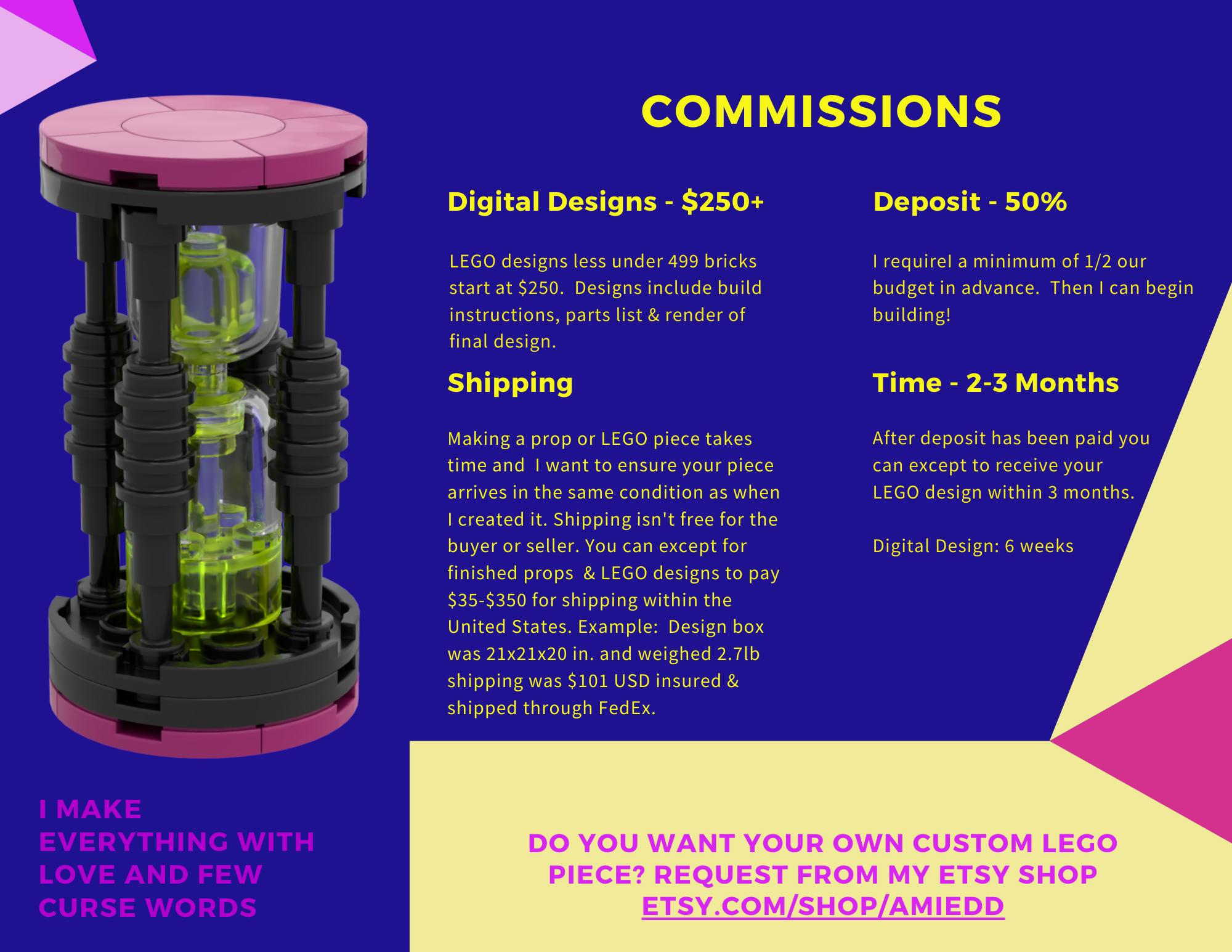 LEGO Masters Custom Commissions
