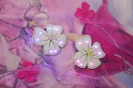 Flowers Bluetooth brooches