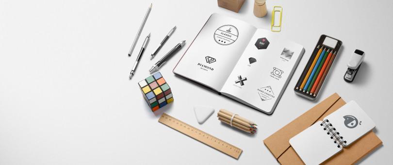 Éléments visuels pour un web design