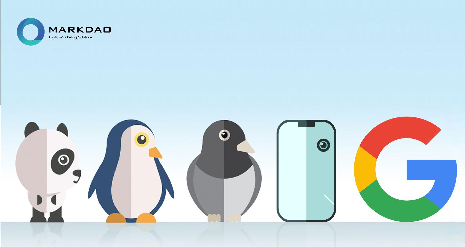 Les 4 algorithmes Google à savoir dans le marketing digital