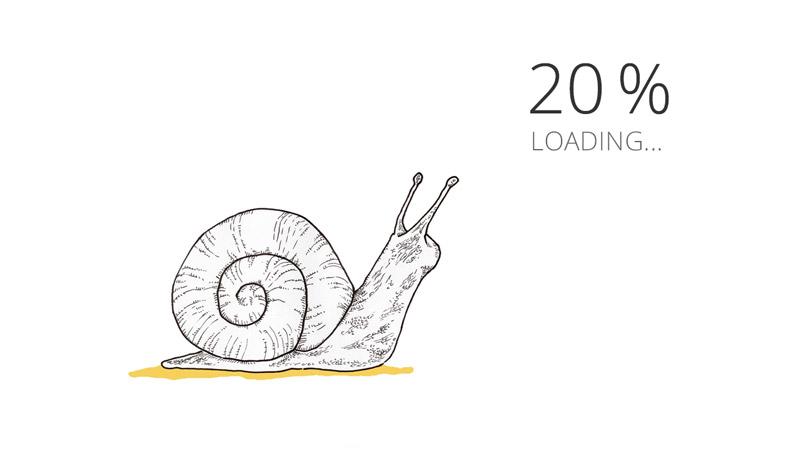 Le chargement du site web est trop lent pour améliorer le référencement naturel Google