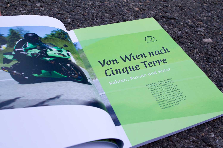 kataloge Godspeed Biketours: Reise-Trennblatt Curves