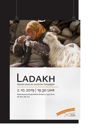 Vortragsplakat Ladakh