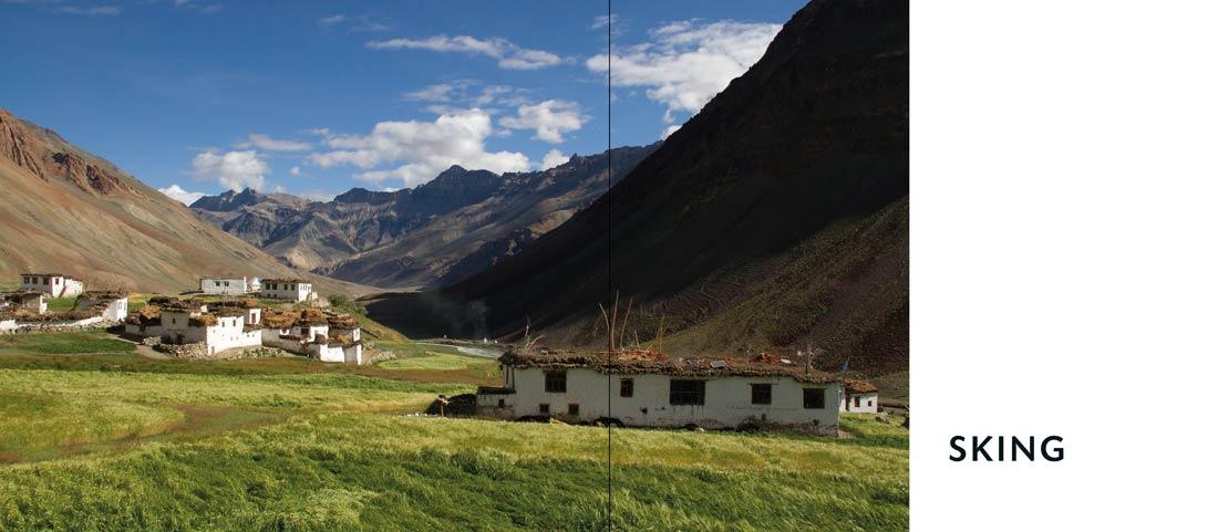 Bildband Ladakh: Kapiteltrennbaltt