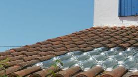Tuile solaire thermique implantée à Chateliaillon (17)