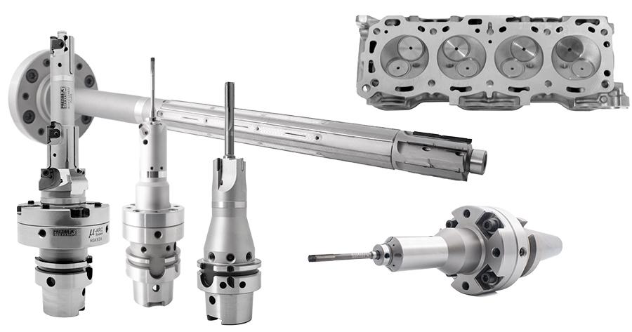 Preziss PCD tools cylinder head
