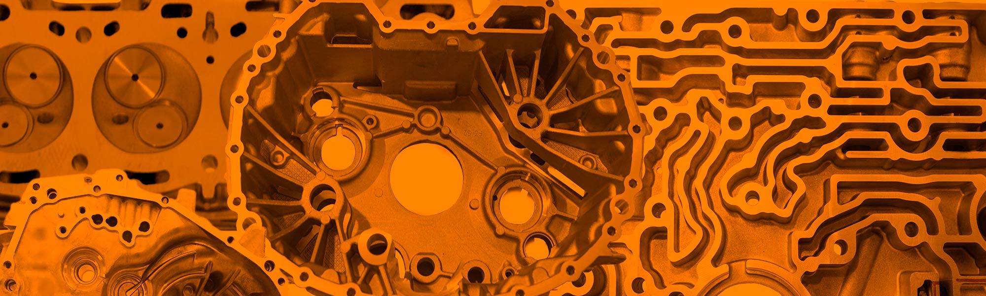 aluminium components K_MILL surface finishing