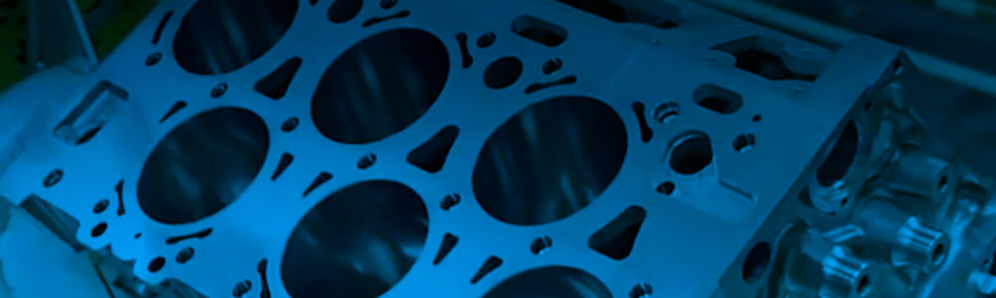 Aluminium-engine-block-surface-finishing
