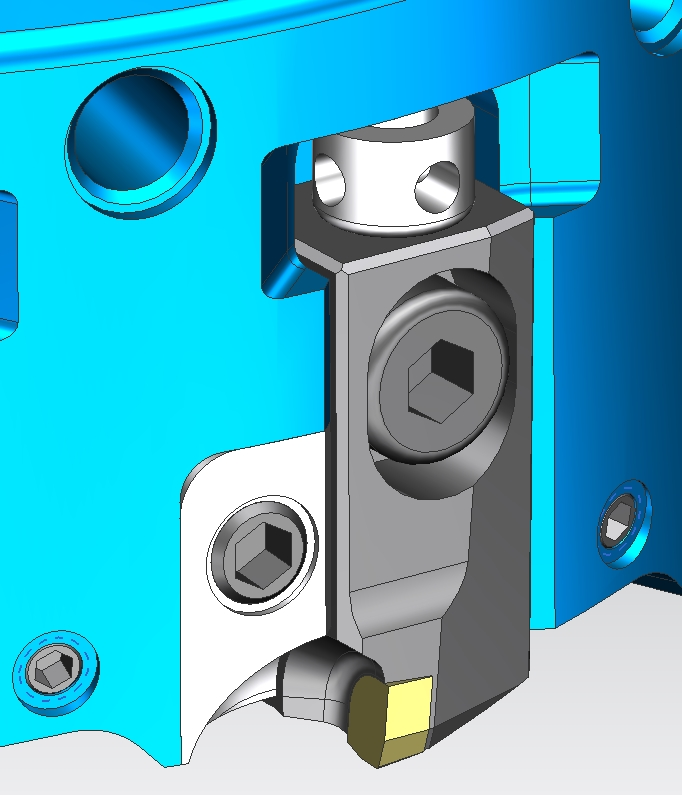 DPM02 face mill cartridge adjustment