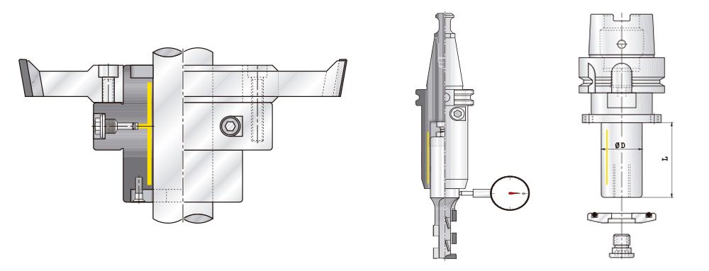 PREZISS Hydraulic tool holders