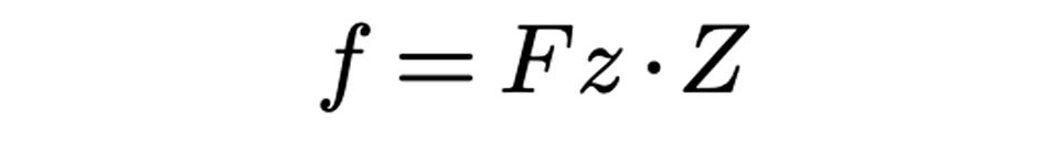 feed per revolution formula by preziss