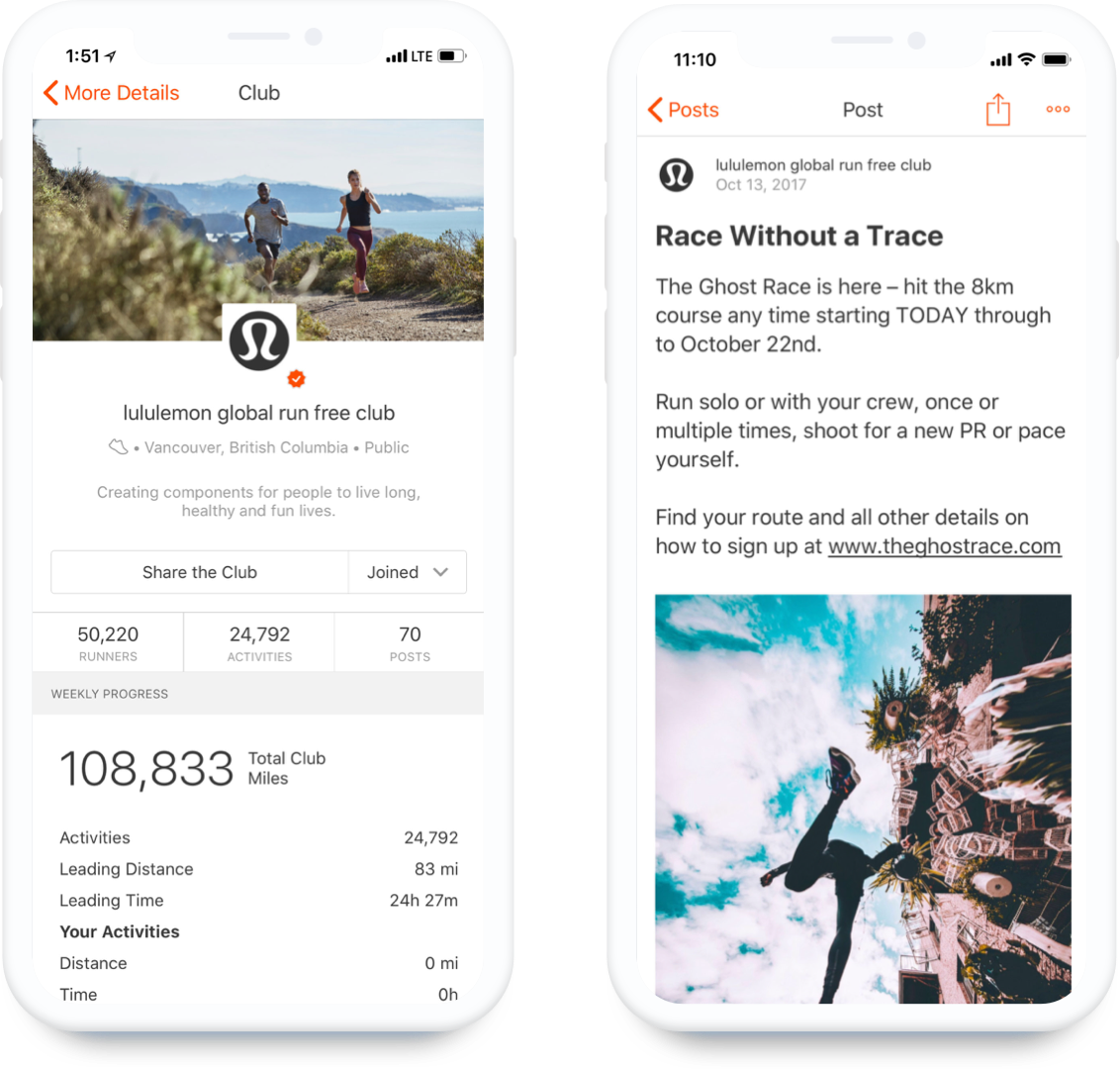 Strava Clubs : Strava Business