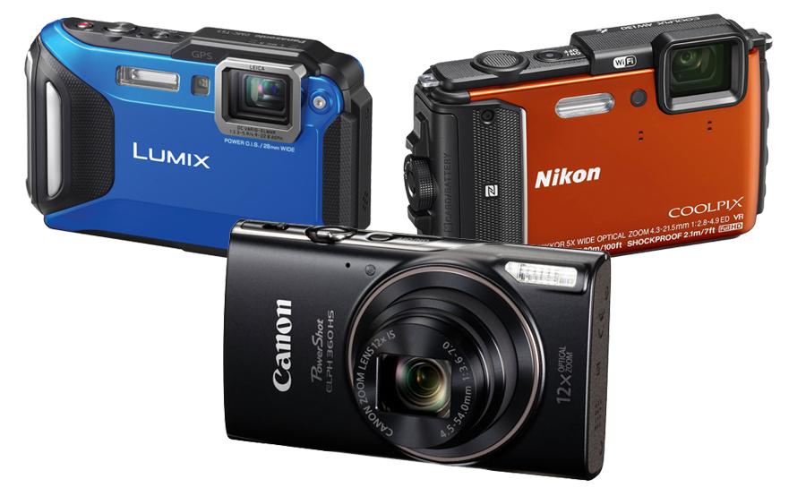 Shop Point & Shoot Cameras