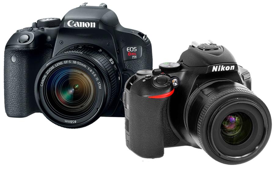 Shop DSLR Cameras