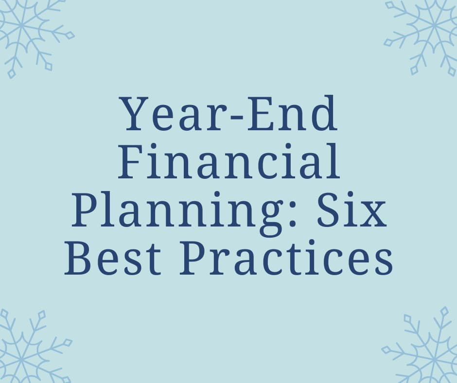 Year-End Financial Planning