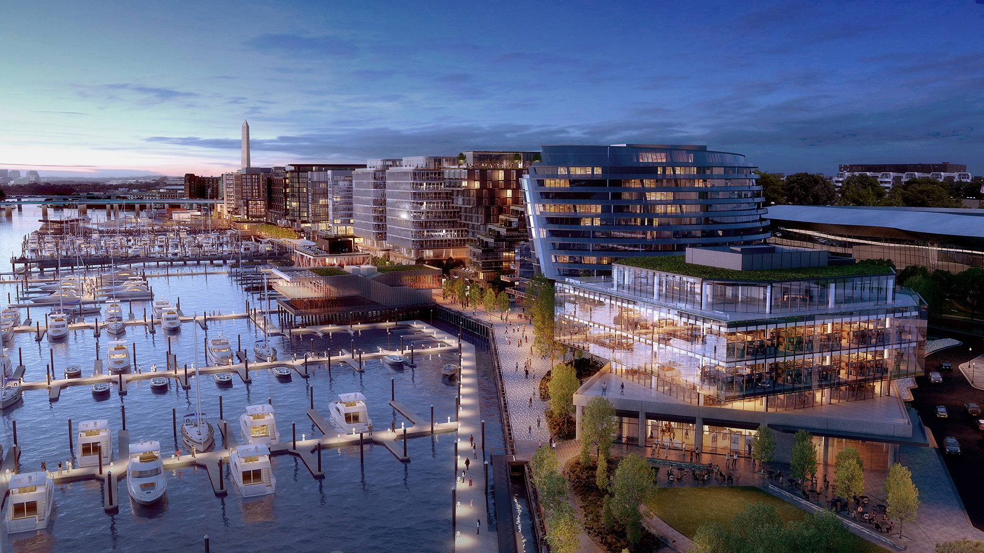 Projects e.r. bacon development district wharf
