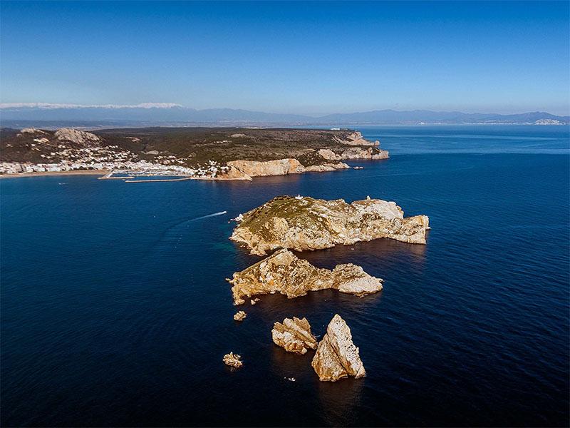Illes Medes Foto Aérea