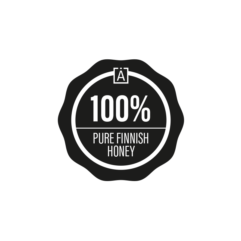 100% pure Finnish honey