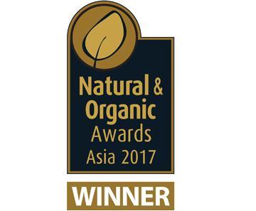 Natural & organic award winner icon