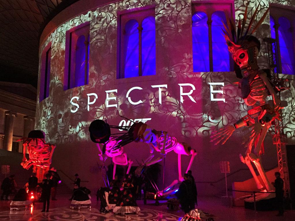 Spectre film premiere
