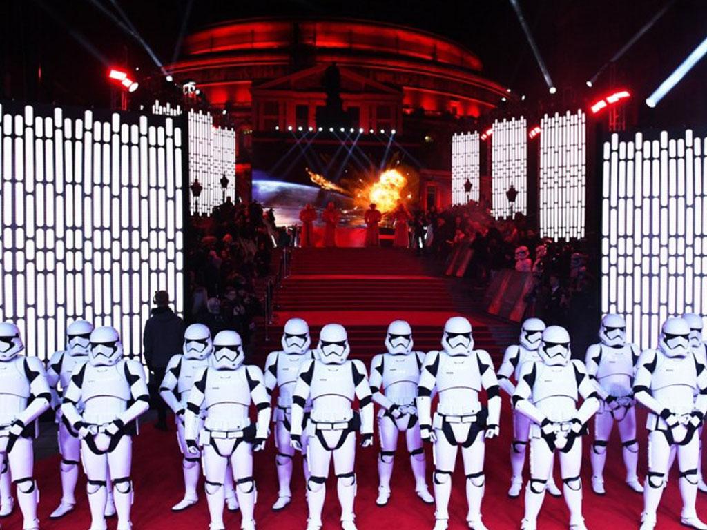 Star Wars film premiere
