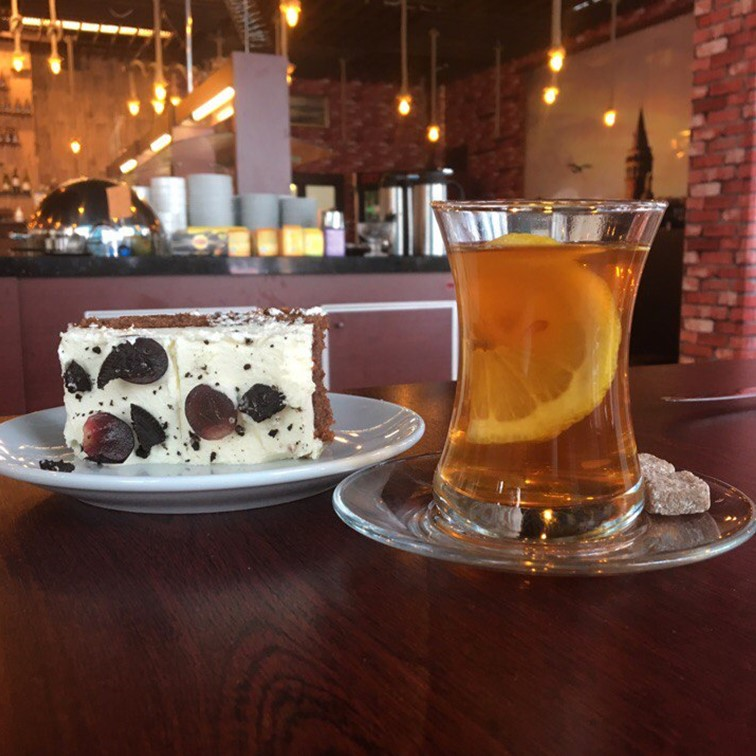 Tee ja kakku Galata
