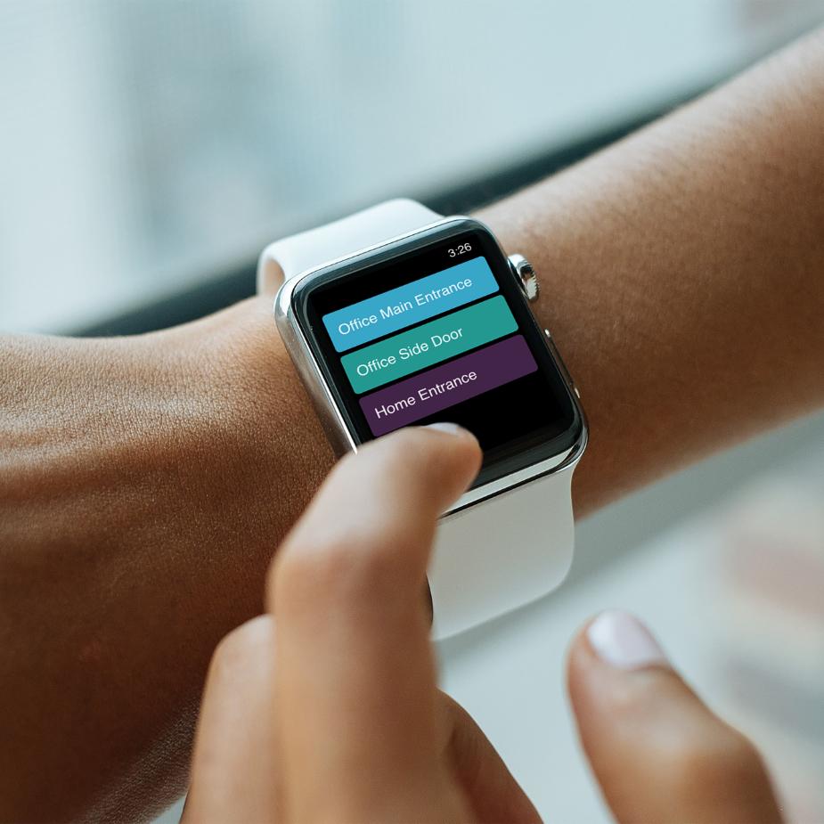 image of Doordeck on the Apple Watch