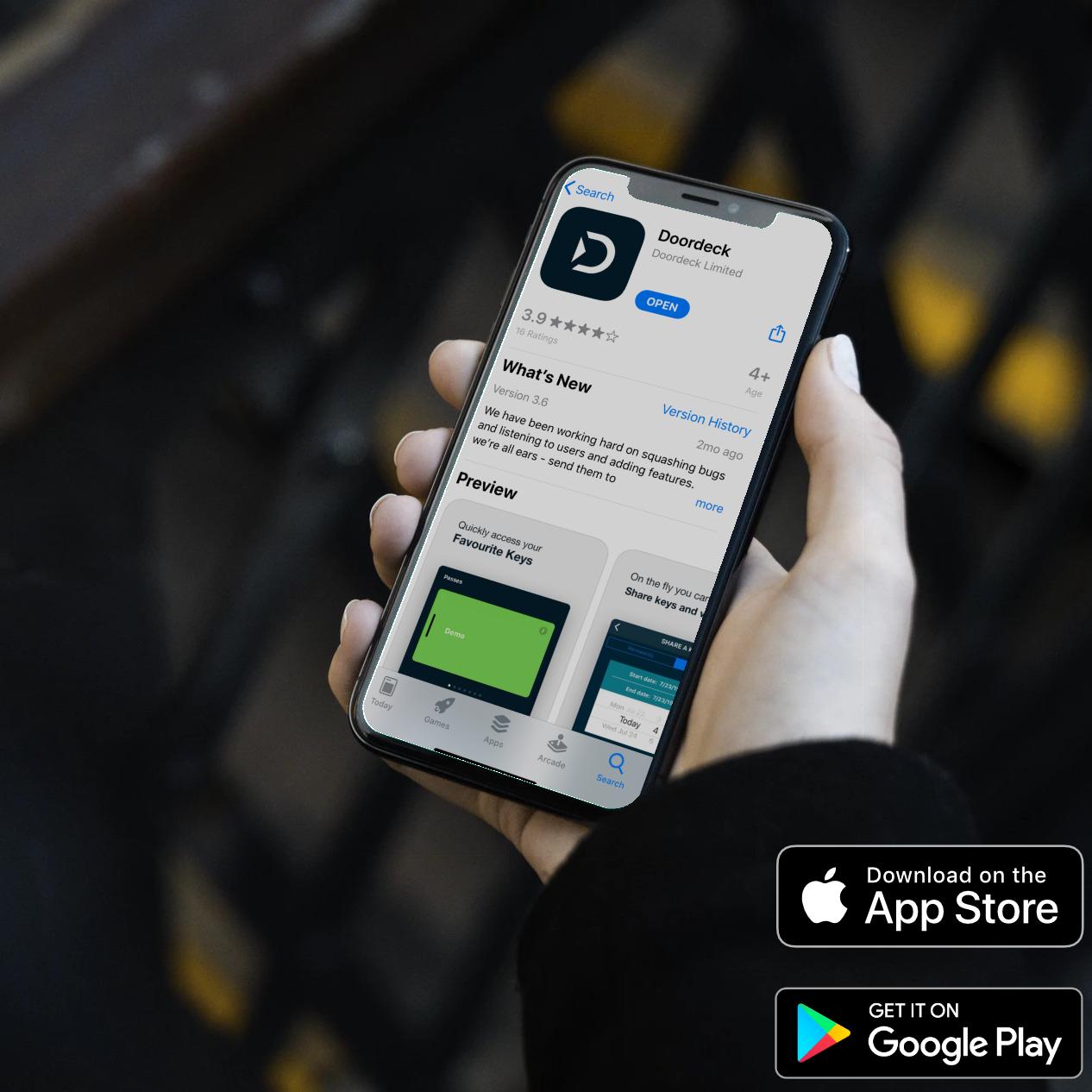 image of Doordeck on on the Apple App Store