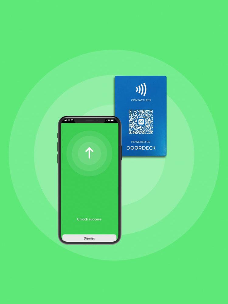 Doordeck uses superfast NFC to unlock doors