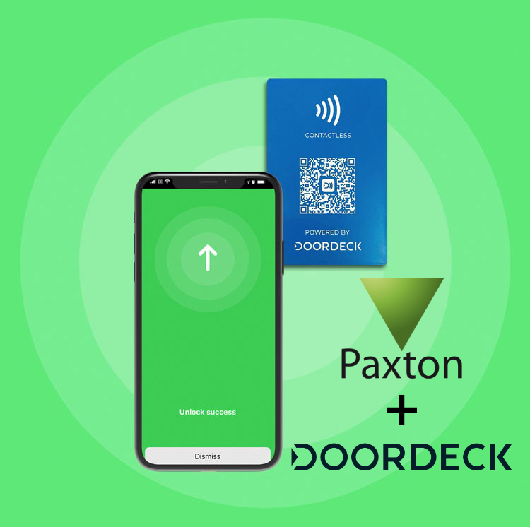 Paxton and Doordeck access control solution