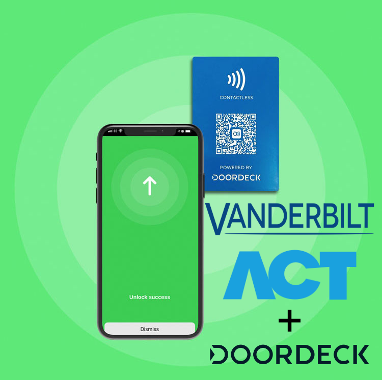 Vaderbilt Act and Doordeck access control solution