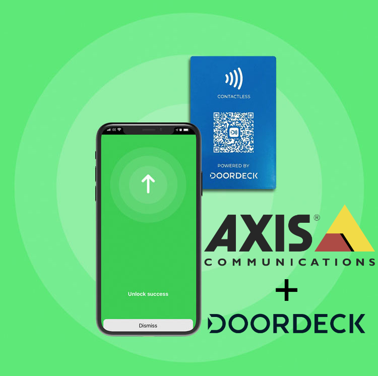 Axis access control solutions and Doordeck