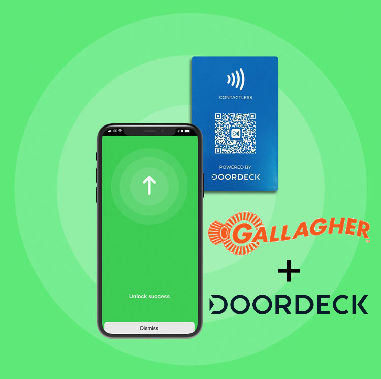 Gallagher access control solutions and Doordeck
