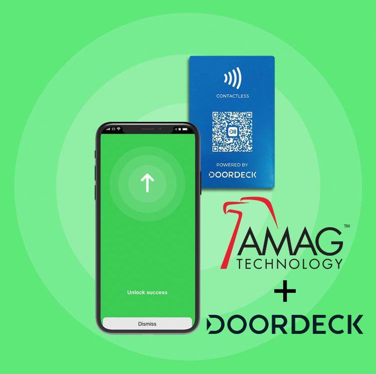 AMAG Technology access control and Doordeck