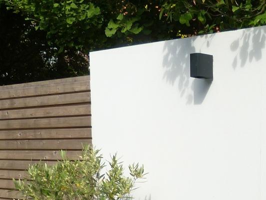 Een witte muur