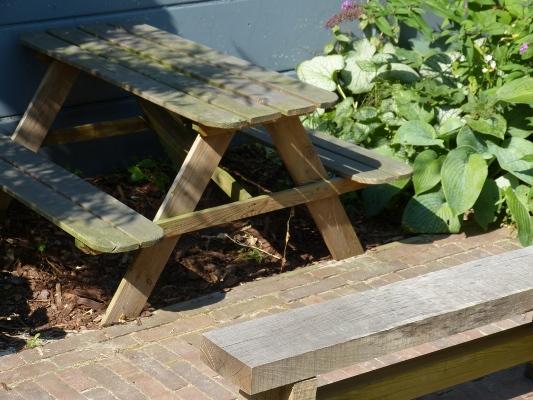 Mini picknicktafel