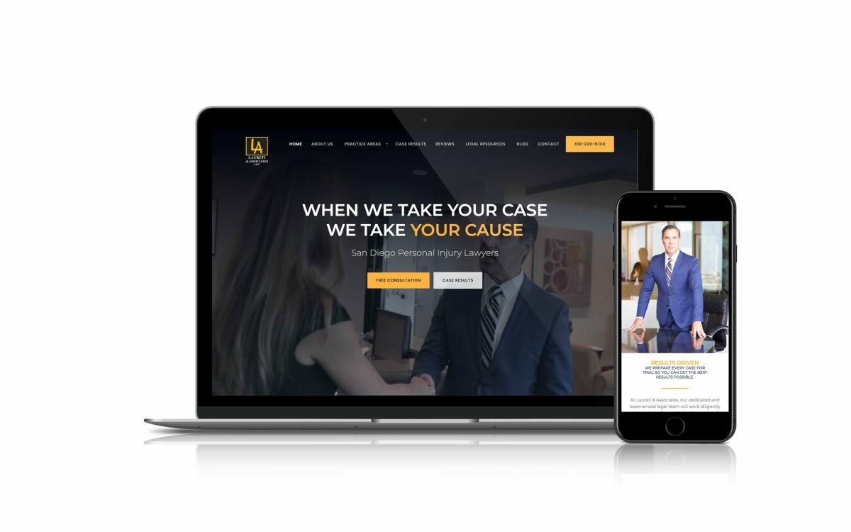 Law Firm Web Design By Nomos Marketing